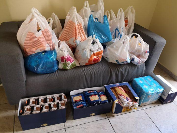 Η συλλογή τροφίμων για ευπαθείς ομάδες!